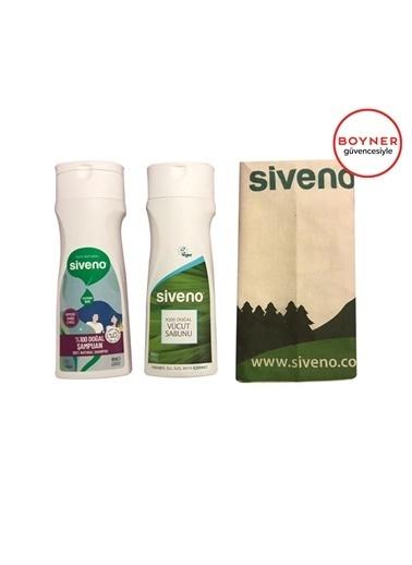 Siveno Siveno 2''li Kofre Şampuan Set 600 ml Renksiz
